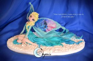 fairy elsa Snow Queen ( sold out) by AngeniaC