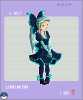Gijinka Pokemon 457 Lumineon by saurodinus