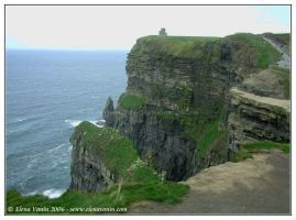 Ireland, the Cliffs of Moher,2 by Lluhnij