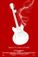 Minimal Posters: Back to the Future 1 by NewRandombell