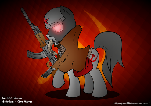 Conscript Pony by jotacos