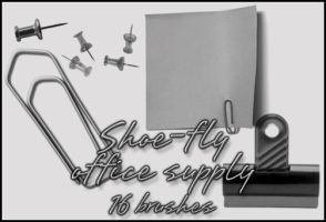 Office supply image pack by shoe-fly