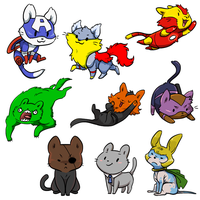 Kitty Avengers by Zerochan923600