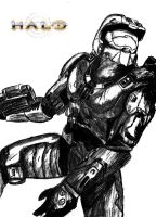 Master Chief by Raven-Arrogant