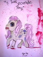 My Little Zombie Pony by VampyreCupcake