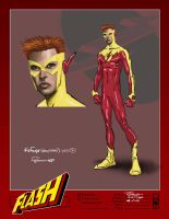 The Kid Flash Concept Design by Roger-Robinson