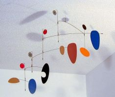 """Wilco"" hanging mobile by unigami"