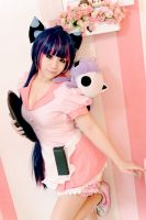 Panty Stocking Garterbelt - Stocking Waitress suit by rolan666