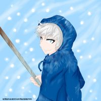 Jack Frost - Rise of the Guardians by kmiramontes14
