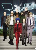Ghost In The Shell Arise Cast by Dreamer-Out-There