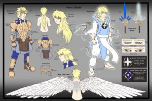 Drown Celestial - Reference Sheet by Dark4Kuran