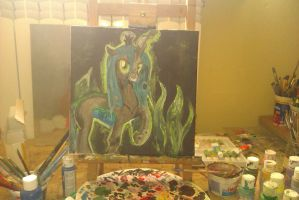 Queen Chrysalis - VI ORP 2013 by rejmaniaa