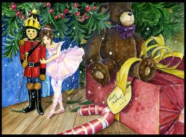 Nutcracker and Ballerina by JoannaBromley