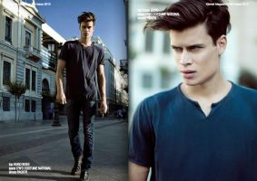 Downtown boy for Kismet Magazine, Issue 30 by OlgaAthens