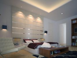 Modern Bedroom by gretan