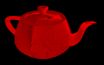 Pop Art Teapot by Deguerre