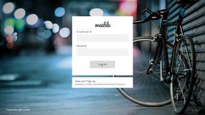 Weeble Login Page by thegbdc
