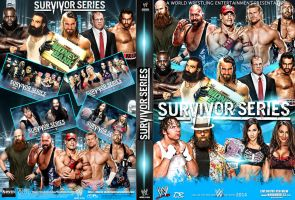 WWE SurvivorSeries 2014 DVDCover by Dinesh-Musiclover