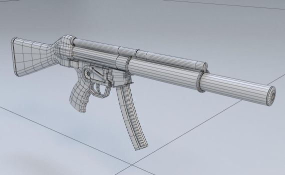 MP5 SD Wireframe (work in progress) by Temporal333