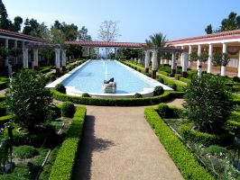 The Getty Villa by piratehippy