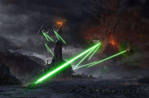 Empire versus Mordor 2.0 by SithMasterJosh
