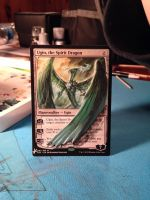 Ugin, the Spirit Dragon with Extended Wing by Hurley-Burley-Alters
