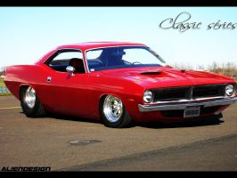 plymouth-barracuda by Alien-design