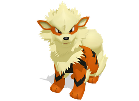 MMD - Arcanine DL!!! by alice-darkangel
