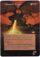 Magic Card Alteration: Kilnmouth Dragon by Ondal-the-Fool
