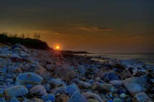 Montauk Sunset by wmandra