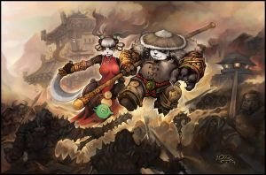 Panda Counterattack by liuhao726