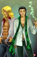 Asgardian Fanservice by TyrineCarver