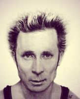 Mike Dirnt by MaryMaryLP