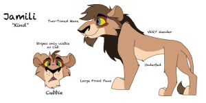 Jamili Reference Sheet by WolffNoelle