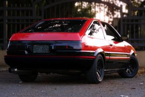 The AE86 by thenewsoul