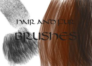 Photoshop HAIR brushes pack 05