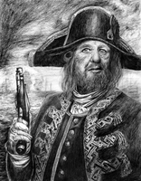 PotC: Captain Barbossa by freshberries