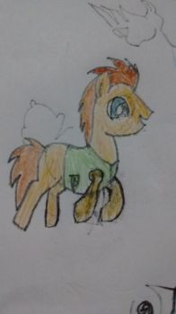 doctor whooves! sort of by Queen-Cerali