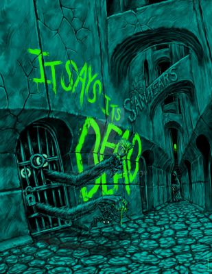 It Says Its Dead Poster by samhears