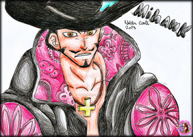 One Piece - Mihawk by NadiaCoelho