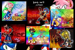 .::Sonic DANCE collection::. by MiaHarper