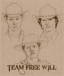 Team Free Will, 1830s style by serenada