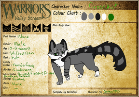 Crosskit of Willowclan by SophSouffle