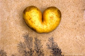 a heart potato by brijome