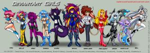 DeviantArt Girls by DARTH-KANETAKER