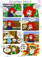 Comic- Christmas Spirits Pg 1 by Agent-Di
