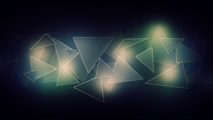 Triangle Wallpaper by Leanniea