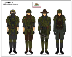 Fallout 2 NCR Troopers by Milosh--Andrich