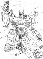 Optimus Primarch by TheScorpion