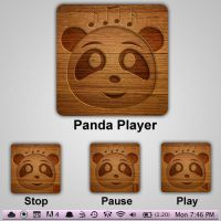 Panda icons for mac os by waqasmoosa